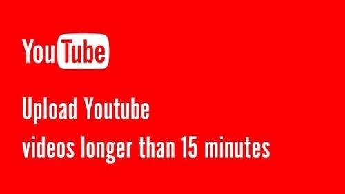 유튜브 동영상 업로드, 15분 이상의 긴 동영상 업로드 방법