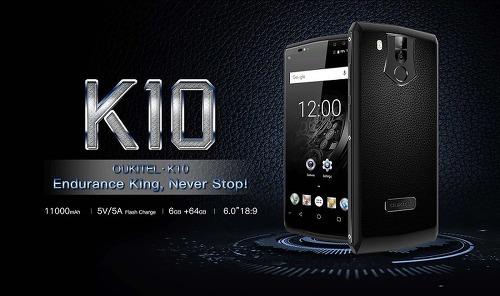 오키텔(Oukitel) K10 배터리 최강 스마트폰 스펙과 할인정보 공유