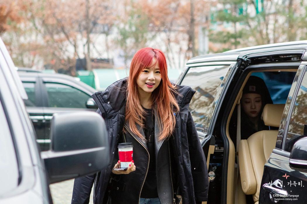 [15.11.26] 김창렬의 올드스쿨 EXID 출근길