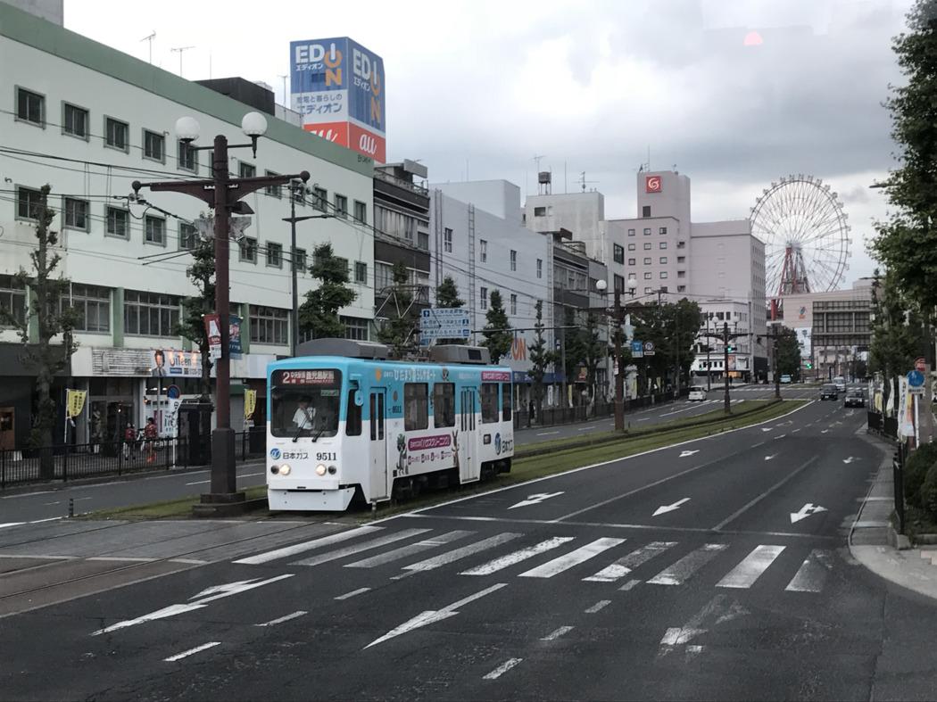 6월, 일본 가고시마.
