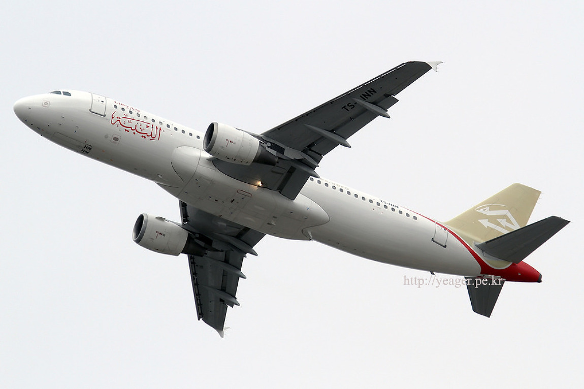 Libyan Airlines / A320-212 / TS-INN