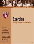 암환자 운동에 대한 새로운 가이드라인