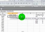 Excel VLOOKUP 함수 - 두개의 데이터 집합에서 서로 일치하지 않는 값 찾아내기