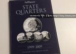 동전 수집 1년 째 미국 쿼터 달러 수집용 책을 구입하다.