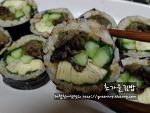 여름을 배웅하는 맛깔난, 초가을김밥~