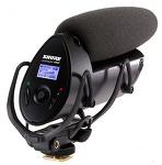 [SHURE] VP83F / 슈어, 플래쉬 레코더 탑재, VDSLR전용 초소형 컨덴서 마이크, Rycote 마운트(Rode VideoMic)