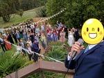 호주 결혼식 참석