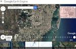 구글 어스 타임랩스, 위성사진으로 지구 변화 모습 본다 1984~2016