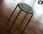 가장 저렴한 간이 의자! 이케아 MARIUS 스툴 직접 사용해보니..