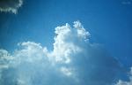 구름 하나를,,