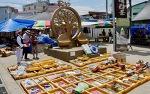 성환이화시장은 예술작품이 시장에 설치된 천안의 예술시장