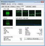 컴퓨터를 켜고 아무 일도 안 해도 CPU점유율이 50%를 넘기는 문제