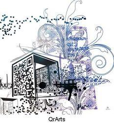 QR코드 ART 국제 전시회-qr코드도 예술이다