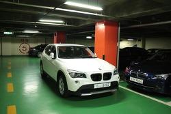 드디어....  BMW  X1  20d, 23d 포착....