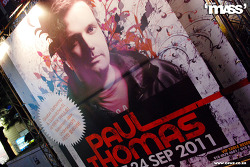 2011. 09. 24. Sat. Paul Thomas @ club mASS