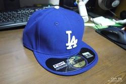 [Eastbay.com] LA다저스 홈 캡(New Era 59FIFTY MLB Authentic Cap)