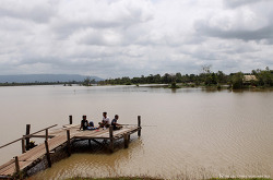 시엠립 사람들이 피크닉 넘버원으로 꼽는 캄보디아 휴양지, Troav Kot Lake