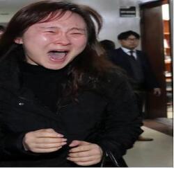 임성준군 어머니 권미애씨의 절규