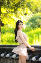 돌담길에서 담아본 아름다은 그녀 MODEL: 은하영 (9-PICS)