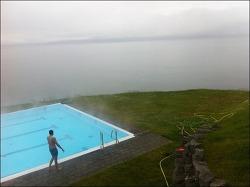 [아이슬란드 여행기21] 진정한 오션뷰 수영장이 있는 곳, 호프소스(Hofsós)!!!
