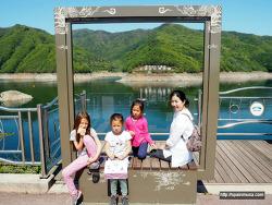 깜짝 방문한 우리 가족의 한국 봄나들이, 좋다!