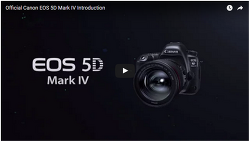 Official Canon EOS 5D Mark IV Introduction 를 보며 드는 생각