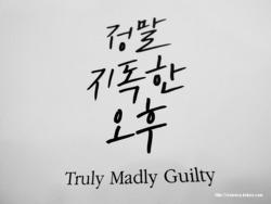정말 지독한 오후 (Truly Madly Guilty) -리안 모리아티