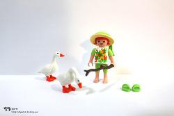 Easter Egg 거위소녀 ::플레이모빌 4915