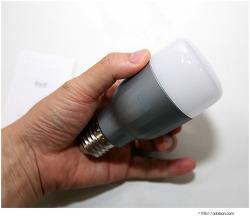 샤오미 스마트 전구 이라이트(Xiaomi Yeelight) 앱제어로 편리한 LED전구