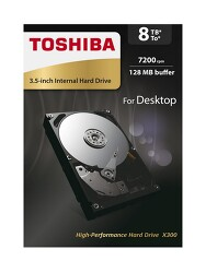 8TB HDD 도시바 X300 하드디스크
