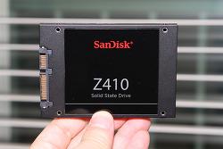샌디스크 Z410 Sandisk SSD 벤치마크