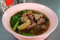 방콕 카오산 맛집 나이쏘이 소갈비국수