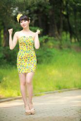 노란 병아리 같은 귀여운 그녀 MODEL: 연다빈 (7-PICS)