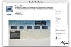 맥앱 창의 위치와 크기 정렬을 편하게 window tidy