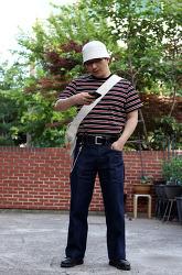 반팔티셔츠 스트라이프 티셔츠 코디 남자 여름 패션 팁