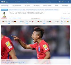 FIFA U-20 월드컵 A조 조별리그 1차전 한국 3-0 기니