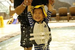 따뜻한 캐리비안베이에서 즐기는 가을 물놀이