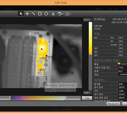 컴퓨터 발열 열화상사진 그래픽카드 사운드카드 메인보드 발열