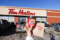 캐나다 국민커피, 캐나다에선 스타벅스 보다 '팀홀튼' 카페 Canada TimHortons