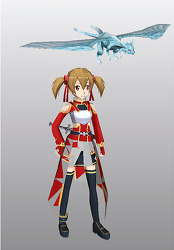 Sword-Art-Online-Silica-and-Pina