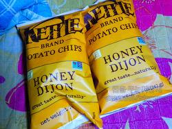 아이허브에서 구매한 감자칩-Kettle Foods 감자 칩 허니 디죤