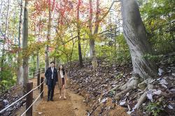 에버랜드에서 '오색 빛깔' 가을 단풍 나들이!