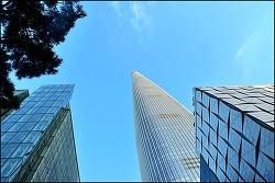 (서울 여행 )롯데 월드 타워 SEOUL SKY,그리고 빨리 올라가고 내려가는 방법