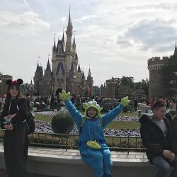 2018 도쿄 스토리 3 (세번째 디즈니랜드)