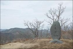 20180318 소룡산 바랑산 (경남산청) (오휴마을 원점회귀) (천왕봉 전망대)
