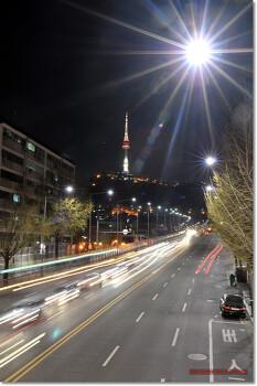 [해방촌]육교에서 바라본 N 타워
