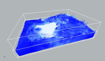 Naiad Test : Advect Liquid by Gas field