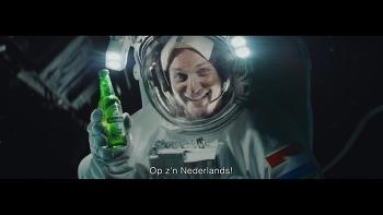 우주비행사가 쏘아올린 작은 맥주! 우주정거장(ISS)의 우주비행사들이 놓친 하이네켄병에서 시작된 오로라(북극광), 하이네켄(Heineken) 맥주 광고 - '자연의 경이(Nature's wonder)'편 [한글자막]