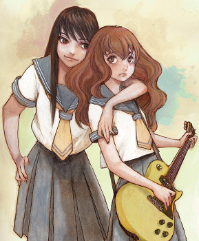 만화 신연재: 「공전노이즈의 공주」토우메 케이의 신작, 타입이 다른 두 명의 여고생을 그린다