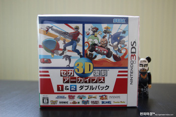 3DS 세가 3D 복각 아카이브스 1&2 더블팩 밀봉